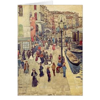 Maurice Prendergast- Venedig Grußkarte