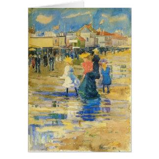 Maurice Prendergast- verehren Strand Karte