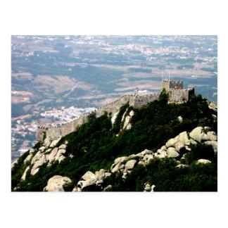 Maurisches Schloss - Sintra Postkarte