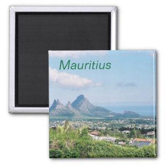 Mauritius-Magnet Quadratischer Magnet