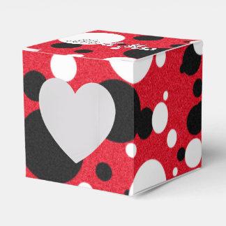 MäuseParty-Hochzeits-Herr u. Frau Heart Favor Box Geschenkkarton