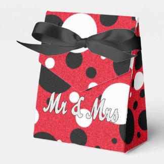 MäuseParty-Hochzeits-Herr u. Frau Shimmer Favor Geschenkschachtel
