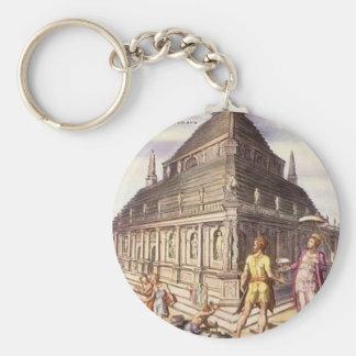 Mausoleum von Halicarnassus Maerten van Heemskerck Schlüsselanhänger