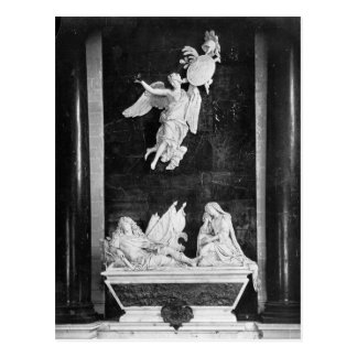 Mausoleum von Nicolas Bautru Marquis de Vaubrun Postkarte