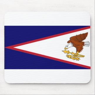 Mausunterlage mit Flaggen-Amerikaner Samoa-Inseln Mousepad