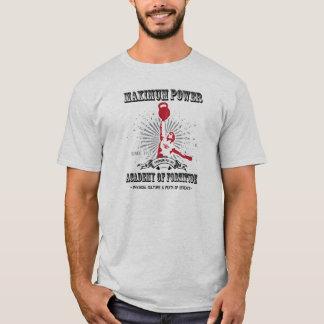 Maximale Power Kettlebell Akademie der Kraft T-Shirt