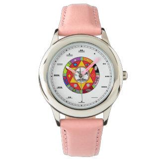 Maya nummerierte Damenuhr Armbanduhr
