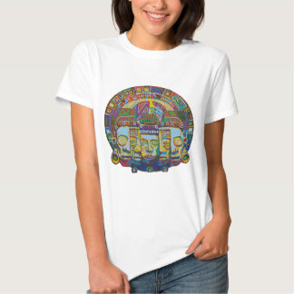 Mayan Wheel with Mask of Death and Rebirth 2011 as Shirt