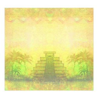 Mayapyramide, Mexiko-Foto-Erweiterung