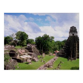 Mayaüberreste, Tikal, Guatemala Postkarte