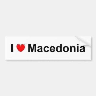 Mazedonien Autoaufkleber