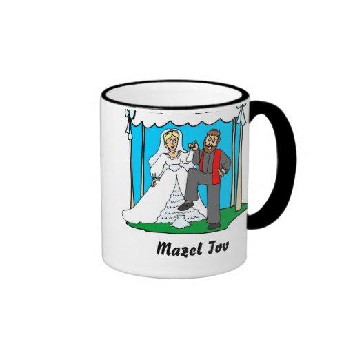 Mazel Tov Hochzeits-Tasse
