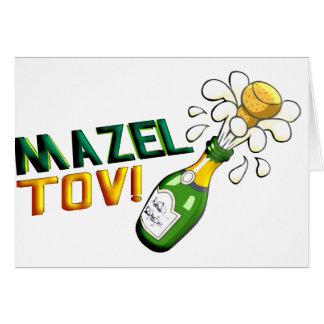 Mazel Tov Karte