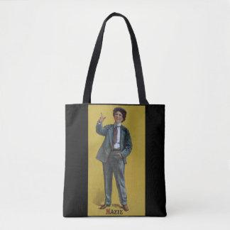 Mazie Trumbull Vintages Vaudeville-Transport-Bild Tasche