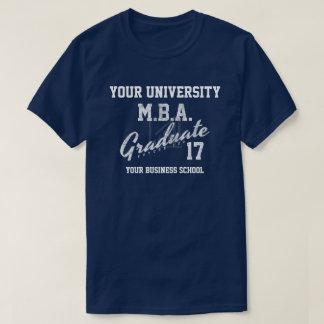 Mba-Wirtschaftsschule-Abschluss Gfit T - Shirt