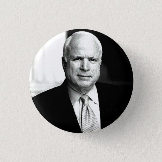 McCain B&W Knopf Runder Button 2,5 Cm