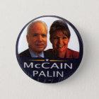 McCain-Palin jugate - Knopf Runder Button 5,7 Cm