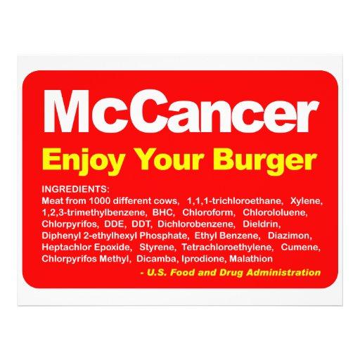 McCancer Flyer Druck
