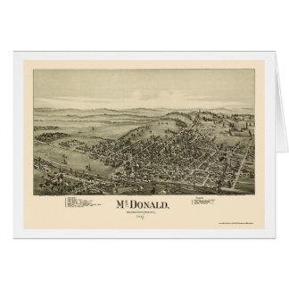 McDonald, panoramische Karte PAs - 1897
