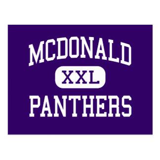 McDonald - Panther - Jüngeres - Katy Texas Postkarte