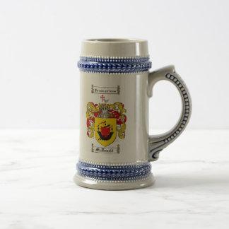 Mcdonald-Wappen Stein Bierglas