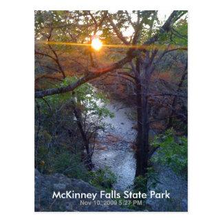 McKinney fällt Staats-Park Postkarte