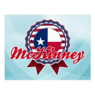 McKinney, TX Postkarte