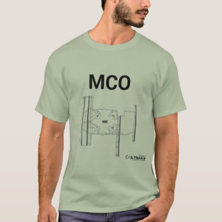 MCO Flughafen-Plan-T - Shirt