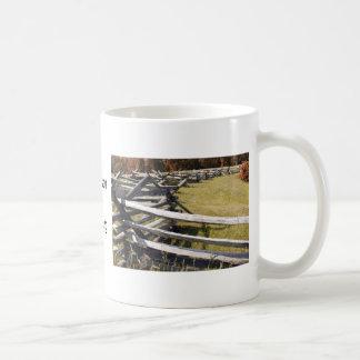 McPherson Ridge Gettysburg PA Kaffeetasse