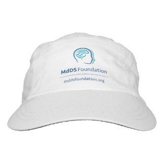 MdDS Bewusstsein gesponnener Leistungs-Hut, weiß Headsweats Kappe