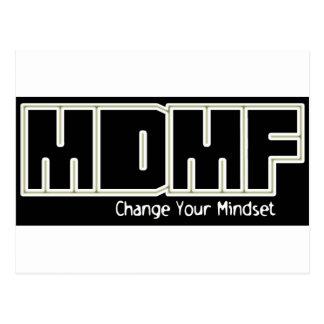 MDMF Gewohnheit Postkarte