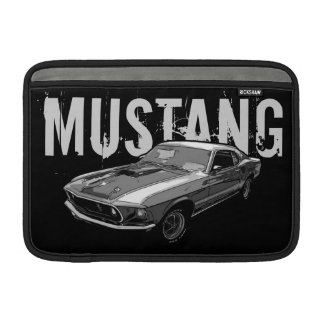 Mechanischer Power des Mustangs MacBook Sleeve