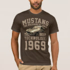 Mechanischer Power des Mustangs T-Shirt