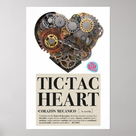 Mechanisches Herz Poster