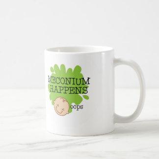 Meconium geschieht Kaffee-Tasse Kaffeetasse