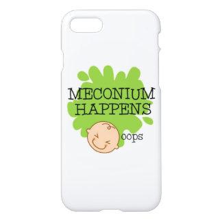 Meconium geschieht lustiger Telefon-Kasten iPhone 8/7 Hülle