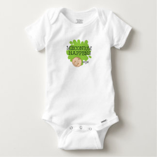 Meconium geschieht lustiges Baby-Shirt Baby Strampler