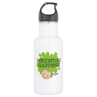 Meconium geschieht Wasser-Flasche Trinkflasche