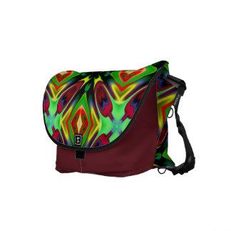MED. Rickshaw-Bote-Tasche in Mehrfarben Kurier Taschen