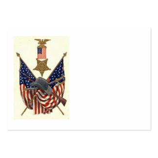 Médaille Eagle de guerre civile des syndicats de d Cartes De Visite Professionnelles