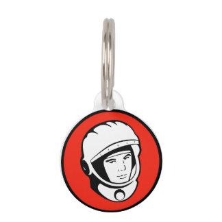 Médaillon Pour Animaux Étiquette soviétique rouge d'animal familier de