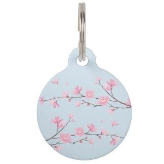 Médaillon Pour Animaux Fleurs de cerisier - arrière - plan transparent