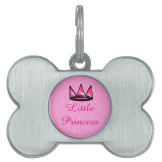 Médaillons Pour Animaux Domestiques Petite princesse