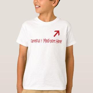 Medi-Hafen hier! T-Shirt
