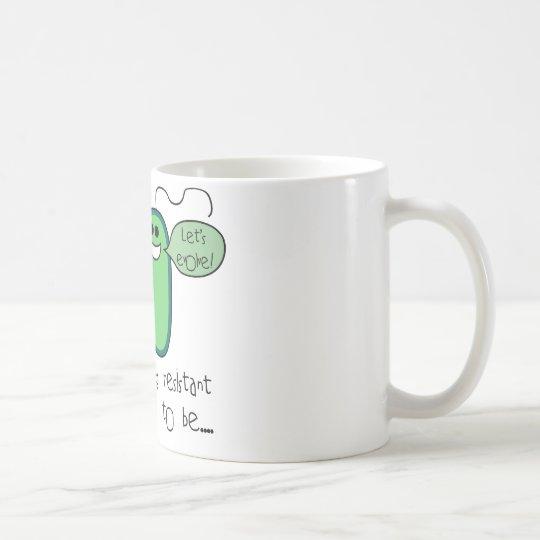 Medikamentenresistenz Kaffeetasse