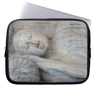 Medilludesign - Buddha-Statue Laptop Sleeve