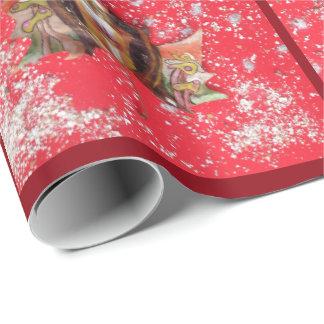Medilludesign - frohe Weihnachten Geschenkpapier