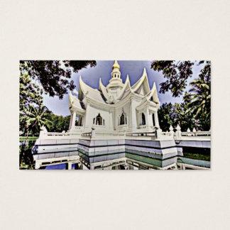 Meditation Hall Visitenkarte