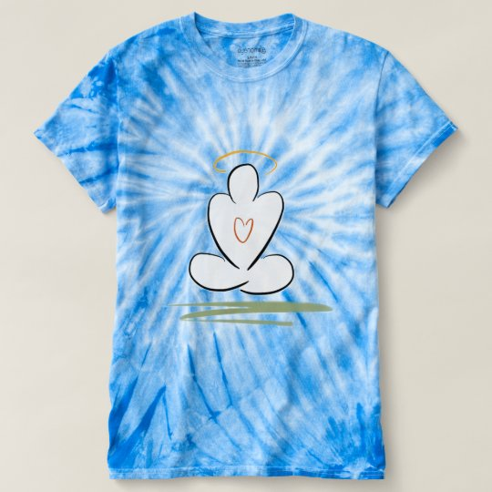 Meditations-Mann-Harmonie-Krawatten-T - Shirt