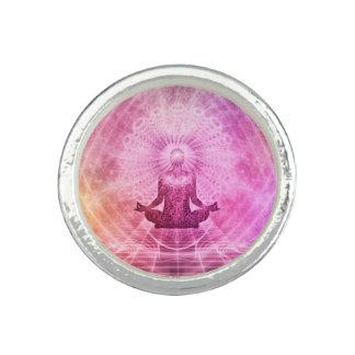 Meditations-Yoga-Art Ringe